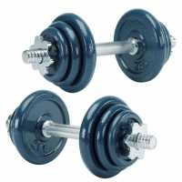 Everlast 18Kg Dumbbell Set  Боксов фитнес и хронометри