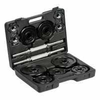 Everlast 18Kg Dumbell Set - Боксов фитнес и хронометри