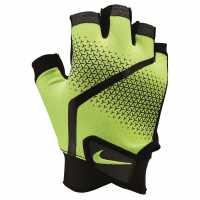 Nike Мъжки Ръкавици Extreme Fitness Training Gloves Mens Voly/Blk/Volt Фитнес ръкавици и колани