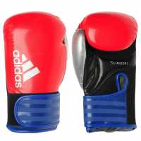 Adidas Hybrid 75 Boxing Gloves Red/Blue Боксови ръкавици