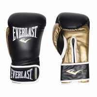 Everlast Powerlock Training Gloves Red/Blue Боксови ръкавици