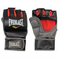 Everlast Тренировъчни Ръкавици За Борба Grappling Training Gloves Black/Red MMA и бойни изкуства