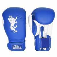 Lonsdale Ръкавици За Спаринг Spar Training Gloves Blue/White Боксови ръкавици