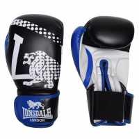 Lonsdale Ръкавици За Спаринг Spar Training Gloves Blue/Wht/Blk Боксови ръкавици
