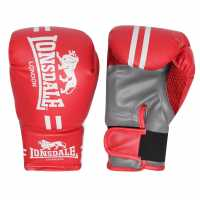 Lonsdale Contender Boxing Gloves Pink Боксови ръкавици