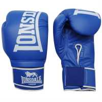 Lonsdale Challenger Boxing Gloves Blue Боксови ръкавици