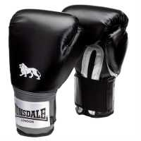 Lonsdale Pro Training Glove Black Боксови ръкавици
