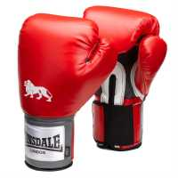 Lonsdale Pro Training Glove Red Боксови ръкавици