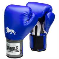 Lonsdale Pro Training Glove Blue Боксови ръкавици