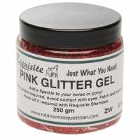 Requisite Sparkle Glitter Gel Pink Грижа за коня