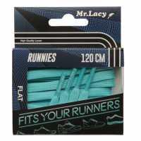 Mr Lacy Runnies Flat Mint Green Стелки за обувки