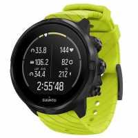 Suunto 9 Gps Watch Lime Часовници