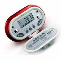 V Fit Fit Pedometer Red Часовници