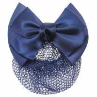 Requisite Bow Hairnet Navy Аксесоари за коса