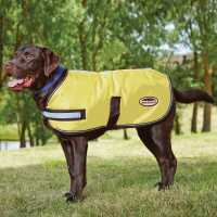 Weatherbeeta Reflective Parka Dog Coat Yellow Магазин за домашни любимци