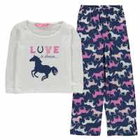 Platinum Pyjamas Infant Girls Cream Бебешки дрехи