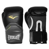 Everlast Elite Gloves Black Боксови ръкавици