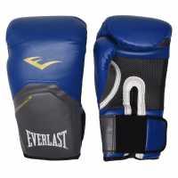 Everlast Elite Gloves Blue Боксови ръкавици