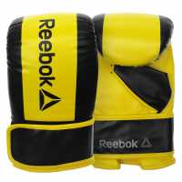 Reebok Boxing Gloves Yellow Боксови ръкавици