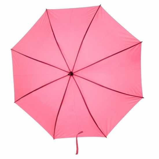 Slazenger Web Umbrella 25 Inch Pink Чадъри за дъжд