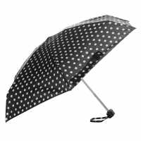 Miso Super Mini Umbrella Polka Dot Black Чадъри за дъжд