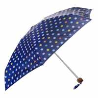 Miso Super Mini Umbrella PolkaDot Purple Чадъри