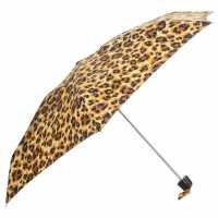 Fulton Tiny Leopard Print Umbrella  Чадъри за дъжд