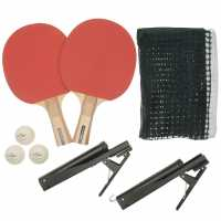 Dunlop Championship 2 Player Table Tennis Set - Хилки за тенис на маса