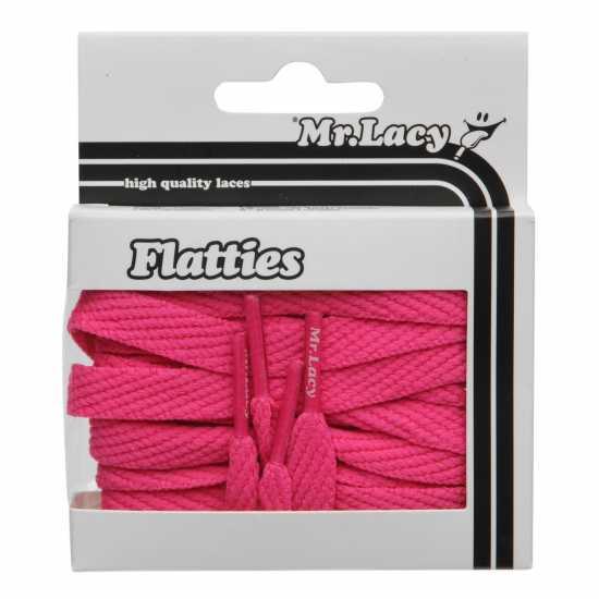 Mr Lacy Flatties Pink Връзки за обувки