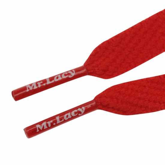 Mr Lacy Flatties Red Връзки за обувки