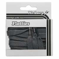 Outdoor Equipment Mr Lacy Flatties Dark Grey Връзки за обувки