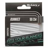 Outdoor Equipment Mr Lacy Runnies Round White Връзки за обувки