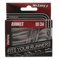 Outdoor Equipment Mr Lacy Runnies Round Grey Връзки за обувки