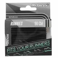 Outdoor Equipment Mr Lacy Runnies Round Black Връзки за обувки