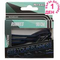 Outdoor Equipment Mr Lacy Runnies Round Navy Връзки за обувки