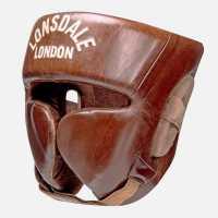 Lonsdale Vintage Leather Headguard  Боксови протектори за глава