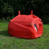 Outdoor Equipment 4 Man Bothy Bag Red Пътни принадлежности