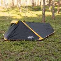 Gelert Track 1 Tent Black/Yellow Палатки