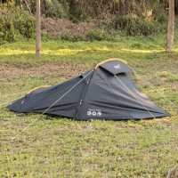 Gelert Track 2 Tent Black/Yellow Палатки