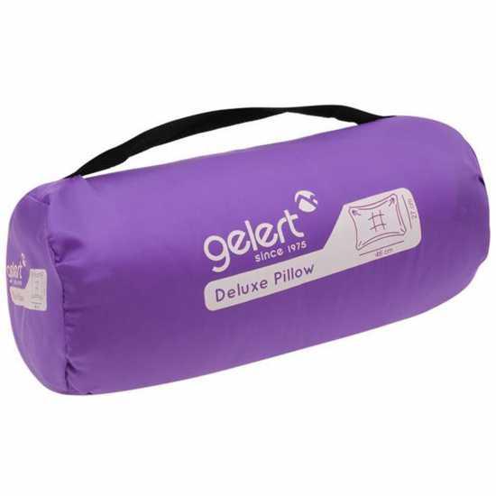 Gelert Възглавница За Къмпинг Camping Pillow Purple Надуваеми легла и спални постелки