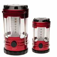 Outdoor Equipment Gelert Led Lantern Set Black/Red Фенери и фенерчета