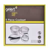 Outdoor Equipment Gelert 5 Piece Cookset  Къмпинг аксесоари