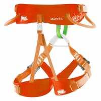 Outdoor Equipment Petzl Macchu Harness Junior Orange Катерене