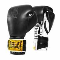 Everlast 1910 Boxing Gloves Black Боксови ръкавици