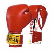 Everlast 1910 Boxing Gloves Red Боксови ръкавици