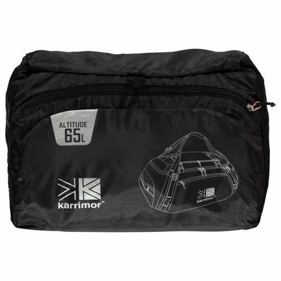 Karrimor Altitude 65L Black Сакове за фитнес
