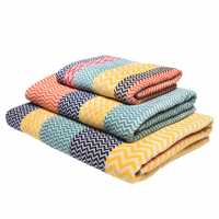 Linea Design Towel Chevron Multi Хавлиени кърпи