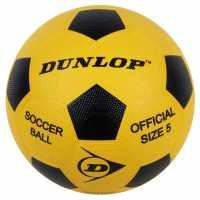 Slazenger Гумена Топка Rubber Balls Football Yellow Подаръци и играчки