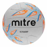 Mitre Ultragrip Netball Ball White