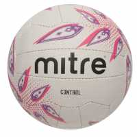 Mitre Control Netball White Нетбол